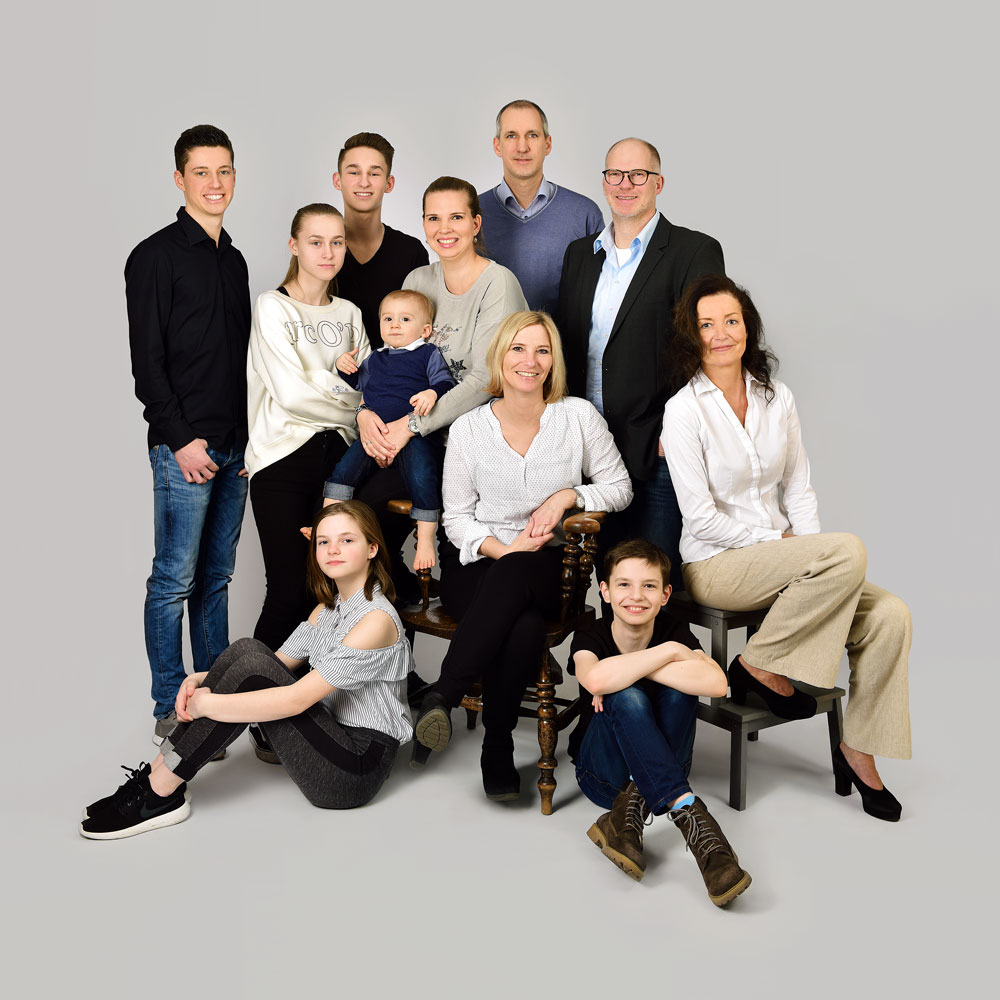 Fotoshooting Familie · HH-Bergedorf